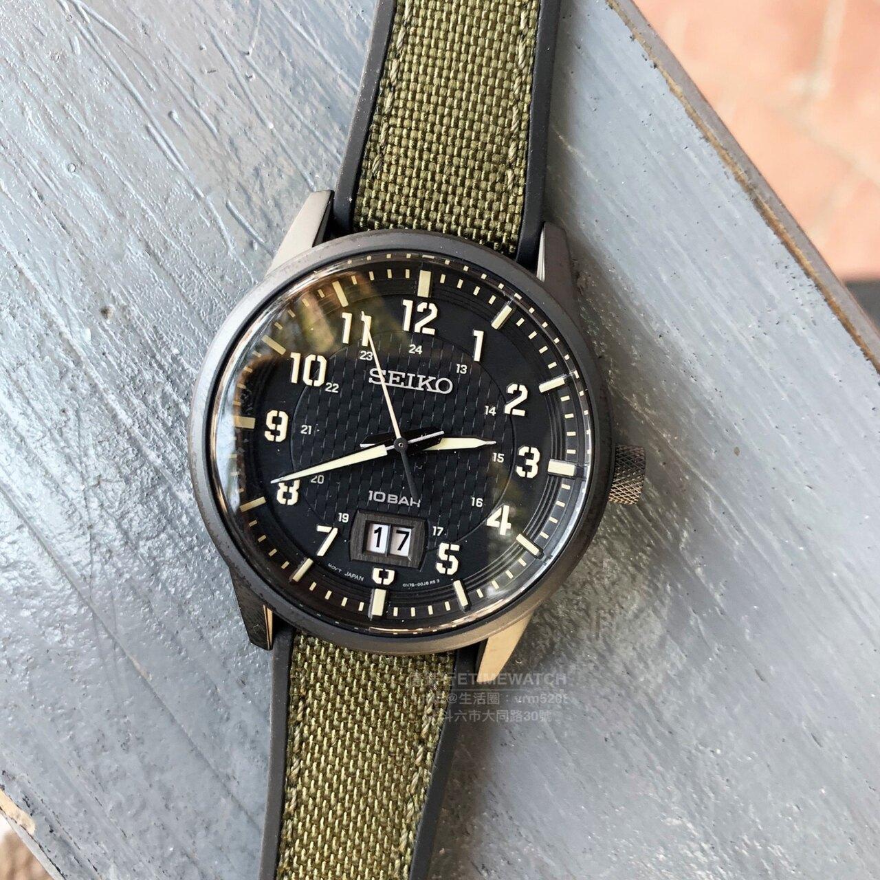SEIKO日本精工軍事攻略競速計時腕錶6N76-00J0SD/SUR325P1公司貨
