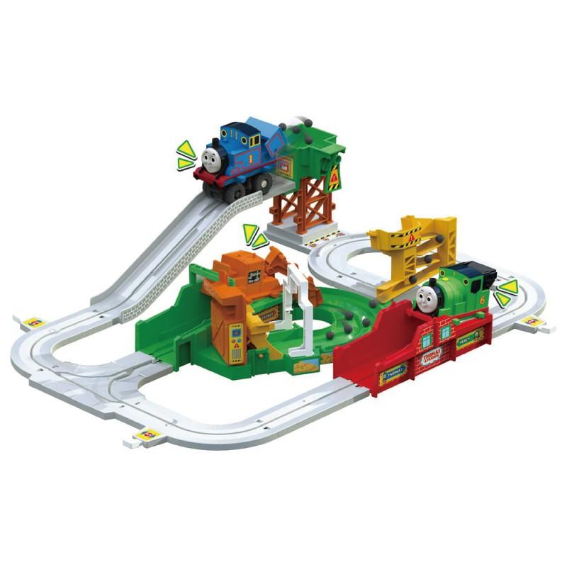 Tomica 湯瑪士 電動工程車組日本版 玩具反斗城