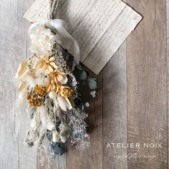 【再販】new‼️小花のナチュラルスワッグ