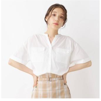 【ピンクアドベ/pink adobe】 Wポケット半袖シャツ