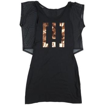 《セール開催中》!MERFECT ガールズ 9-16 歳 ワンピース&ドレス ブラック 12 コットン 100% / ポリエステル / ポリウレタン