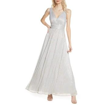 [モーガン] レディース ワンピース Morgan & Co. Shimmer Knit A-Line Gown [並行輸入品]