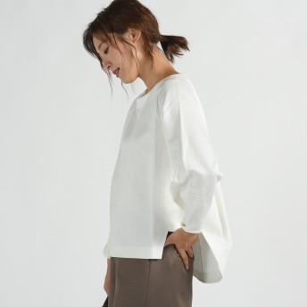 MAYSON GREY(メイソングレイ)/裏毛袖リングボタンプルオーバー