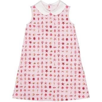 《セール開催中》VERSACE YOUNG ガールズ 3-8 歳 ワンピース&ドレス ピンク 3 コットン 94% / ポリウレタン 6%