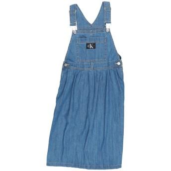 《セール開催中》CALVIN KLEIN JEANS ガールズ 9-16 歳 ワンピース&ドレス ブルー 10 コットン 100%