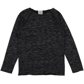 《セール開催中》DOUUOD ボーイズ 9-16 歳 スウェットシャツ ブラック 10 コットン 83% / アクリル 12% / レーヨン 2% / ポリエステル 2% / ナイロン 1%