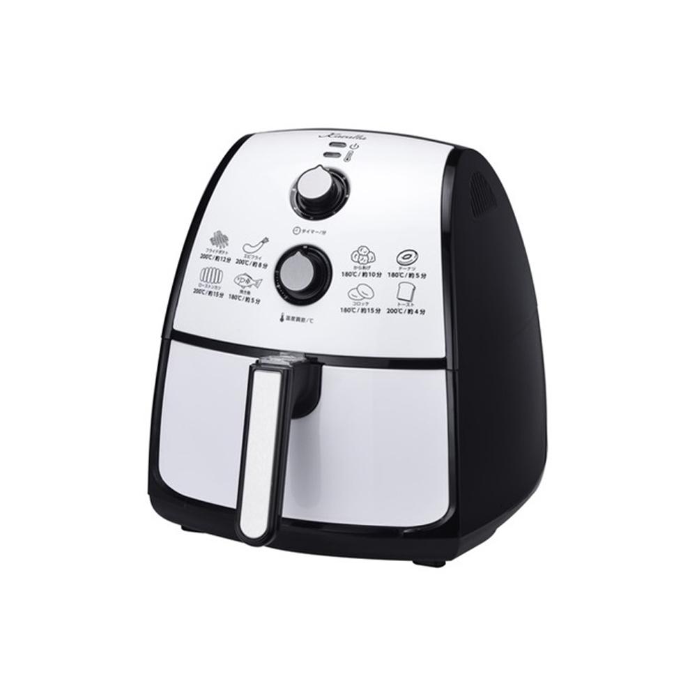 Karalla 4.2公升加大款日本熱銷健康旋風氣炸鍋(贈麵包桶)