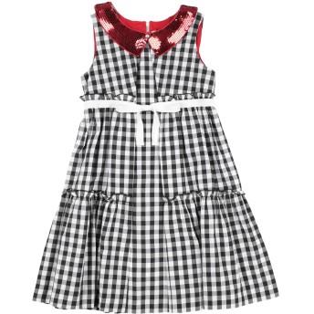 《セール開催中》MIMISOL ガールズ 9-16 歳 ワンピース&ドレス ブラック 10 コットン 60% / ポリエステル 40%