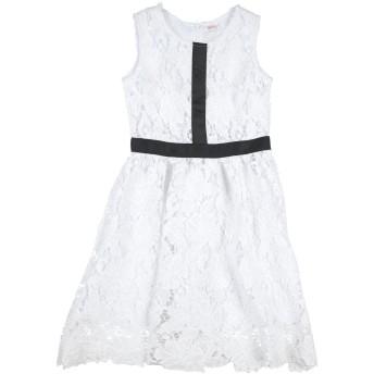 《セール開催中》FRACOMINA MINI ガールズ 3-8 歳 ワンピース&ドレス ホワイト 7 ポリエステル 100%