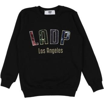 《セール開催中》LADP ガールズ 3-8 歳 スウェットシャツ ブラック 8 コットン 100%