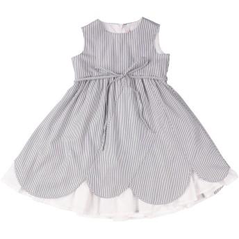 《セール開催中》IL GUFO ガールズ 3-8 歳 ワンピース&ドレス ホワイト 3 コットン 100%