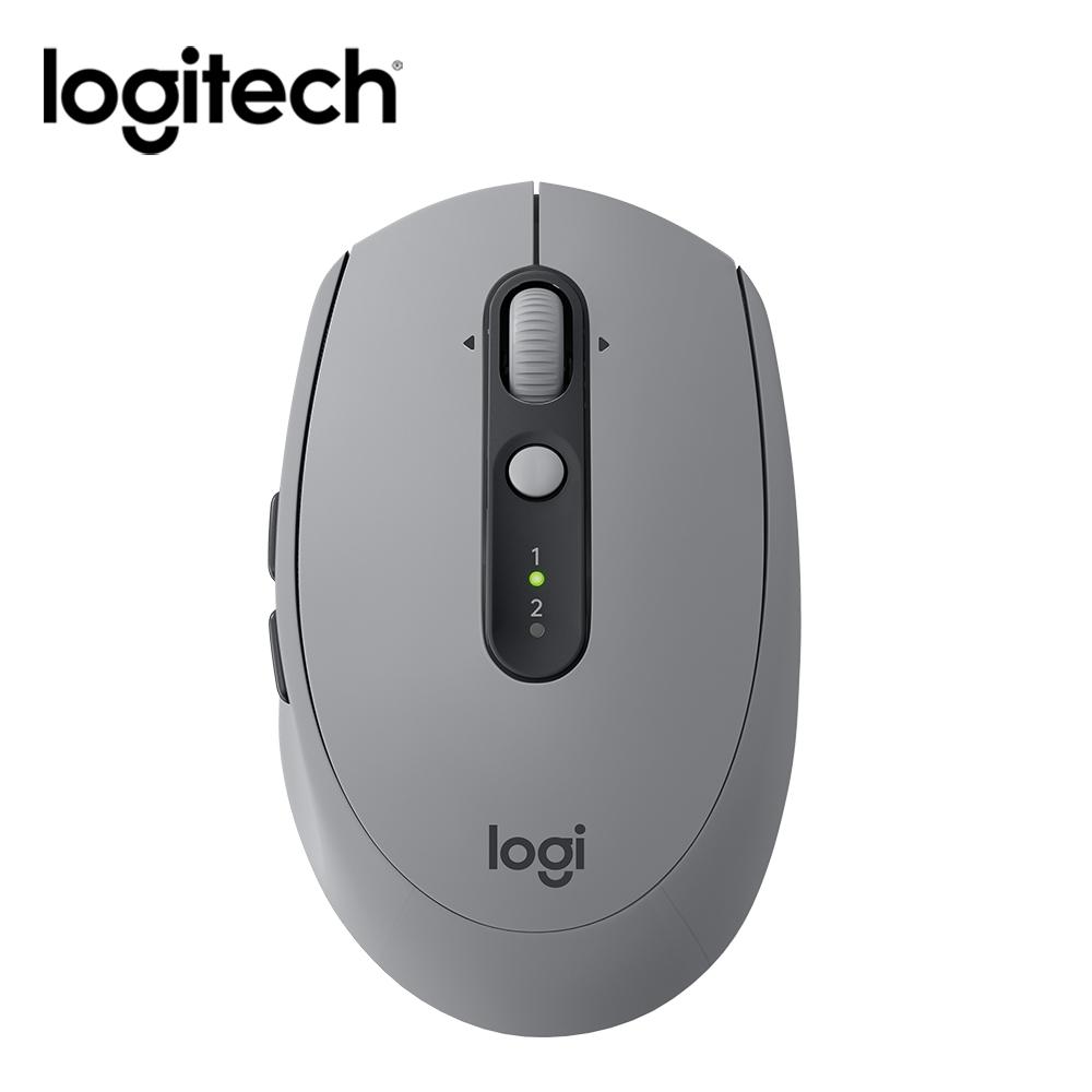 Logitech羅技 M590 多工無線靜音滑鼠 灰