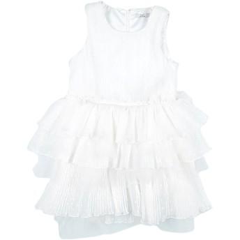 《セール開催中》Y-CL ガールズ 9-16 歳 ワンピース&ドレス ホワイト 9 ポリエステル 100% / ナイロン