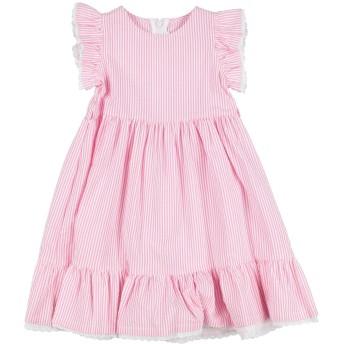 《セール開催中》IL GUFO ガールズ 3-8 歳 ワンピース&ドレス ピンク 3 コットン 100%