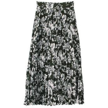 【titivate:スカート】プリーツロングスカート