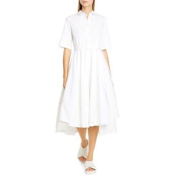 [コー] レディース ワンピース Co Belted Cotton Fit & Flare Shirtdress [並行輸入品]