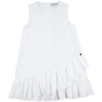 《セール開催中》SIMONETTA ガールズ 3-8 歳 ワンピース&ドレス ホワイト 3 ポリエステル 54% / コットン 46%