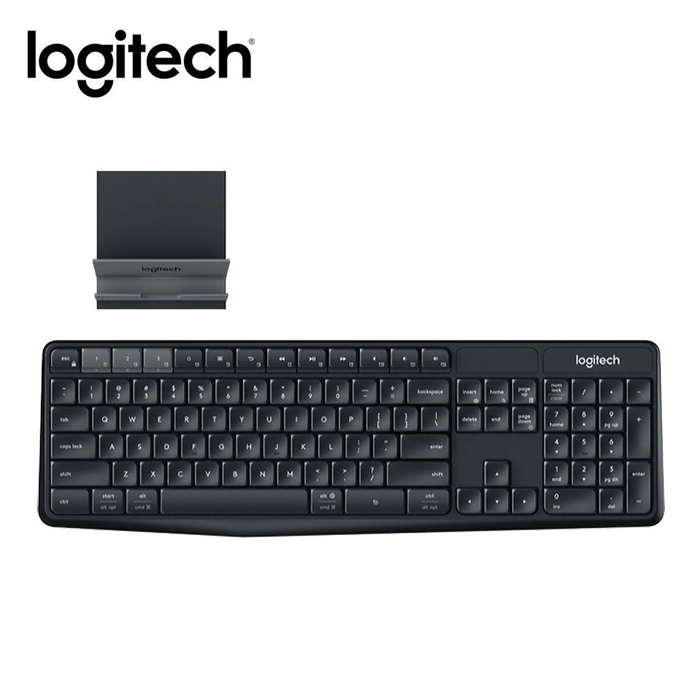Logitech羅技 K375s 無線鍵盤支架組合Multi Device
