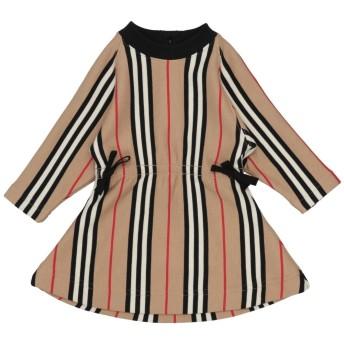 《セール開催中》BURBERRY ガールズ 0-24 ヶ月 ワンピース・ドレス ベージュ 6 コットン 100%