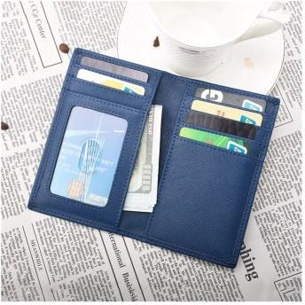 男女兼用ユニセックス学生用 RFID耐磁性盗難防止カードパッケージメンズ超薄型シンプルな小型カードホルダー多機能カードホルダー ボディバッグ斜めがけ (Color : Blue, Size : S)