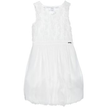 《セール開催中》GUESS ガールズ 9-16 歳 ワンピース&ドレス ホワイト 16 ポリエステル 100%