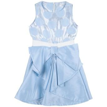 《セール開催中》BYBLOS ガールズ 3-8 歳 ワンピース&ドレス スカイブルー 3 コットン 90% / ポリエステル 10%