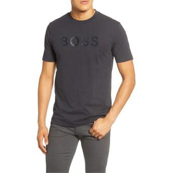 [ボス] メンズ Tシャツ BOSS Tiburt 148 Logo T-Shirt [並行輸入品]