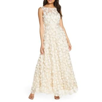 [エリザジェイ] レディース ワンピース Eliza J 3D Floral Gown [並行輸入品]