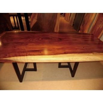A-051■ ジャトバ ダイニングテーブル 豪華テーブル ローテーブル ダイニング カウンター 座卓 天板 無垢一枚板