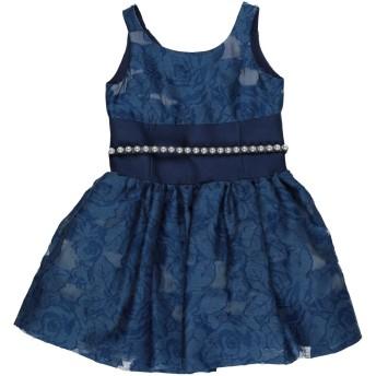 《セール開催中》MONNALISA CHIC ガールズ 3-8 歳 ワンピース&ドレス ブルー 4 ポリエステル 55% / コットン 25% / ナイロン 20%