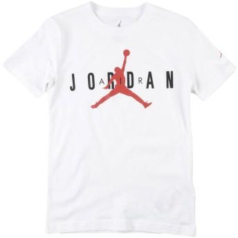 《セール開催中》JORDAN ボーイズ 3-8 歳 T シャツ ホワイト 8 コットン 100% JRDN JUMPMAN HBR