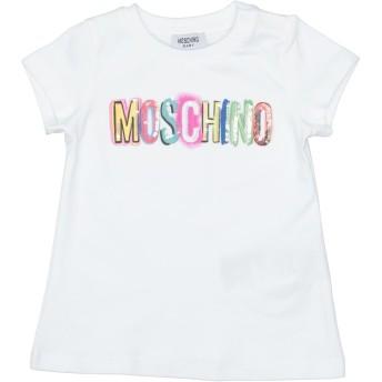 《セール開催中》MOSCHINO ガールズ 0-24 ヶ月 T シャツ ホワイト 6 コットン 95% / ポリウレタン 5% / ポリエステル