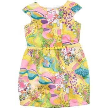 《セール開催中》LE BELLISSIME DI LOREDANA ガールズ 3-8 歳 ワンピース&ドレス イエロー 6 ポリエステル 100%