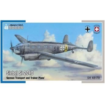 スペシャルホビー 1/48 ドイツ空軍 ジーベルSi204D双発輸送機 プラモデル SH48170