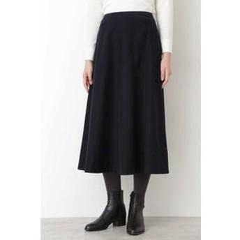 【HUMAN WOMAN:スカート】◆ライトモールスキンスカート