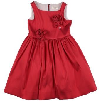 《セール開催中》MONNALISA CHIC ガールズ 3-8 歳 ワンピース&ドレス レッド 8 ポリエステル 90% / ナイロン 10%