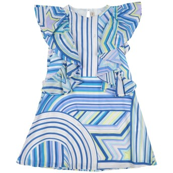 《セール開催中》EMILIO PUCCI ガールズ 3-8 歳 ワンピース&ドレス ブルー 6 コットン 100%