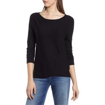 [ハロゲン] レディース ニット&セーター Halogen Crossover Front Knit Sweater (Re [並行輸入品]