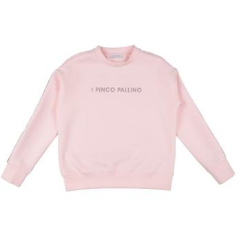 《セール開催中》I PINCO PALLINO ガールズ 9-16 歳 スウェットシャツ ピンク 10 ポリエステル 95% / ポリウレタン 5%