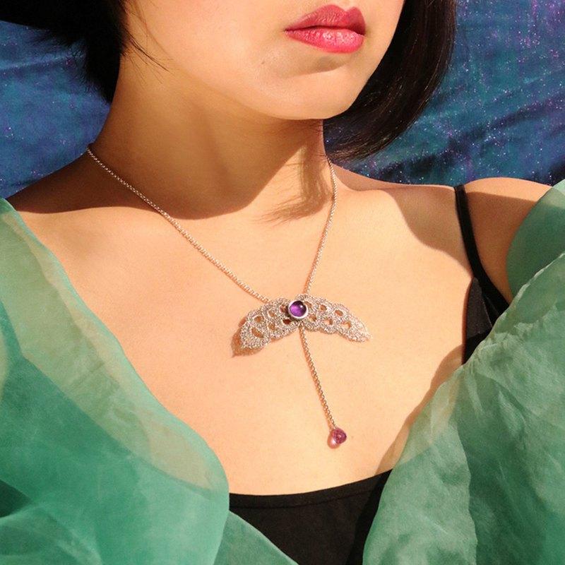 項鏈女小眾設計感原創設計氣質成熟仙氣大氣簡單V領鎖禮服項鏈