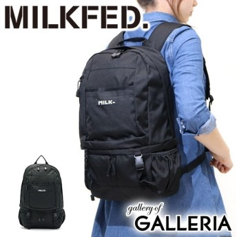 MILKFED ミルクフェド BIG BACKPACK BAR レディース 031640