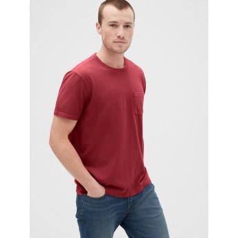 Gap 50th 限定アニバーサリー ヴィンテージウォッシュ ポケットTシャツ