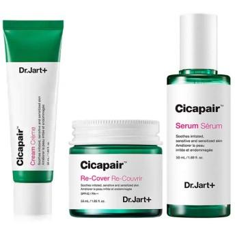 Dr.Jart+ Cicapair Cream + ReCover + Serum ドクタジャルトシカペアクリム50ml + リカバ 55ml + セラム 50ml(2代目) セット [行輸入品] [並行輸入品]