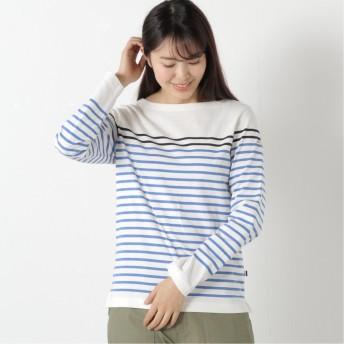 レディース 長袖バスクTシャツ