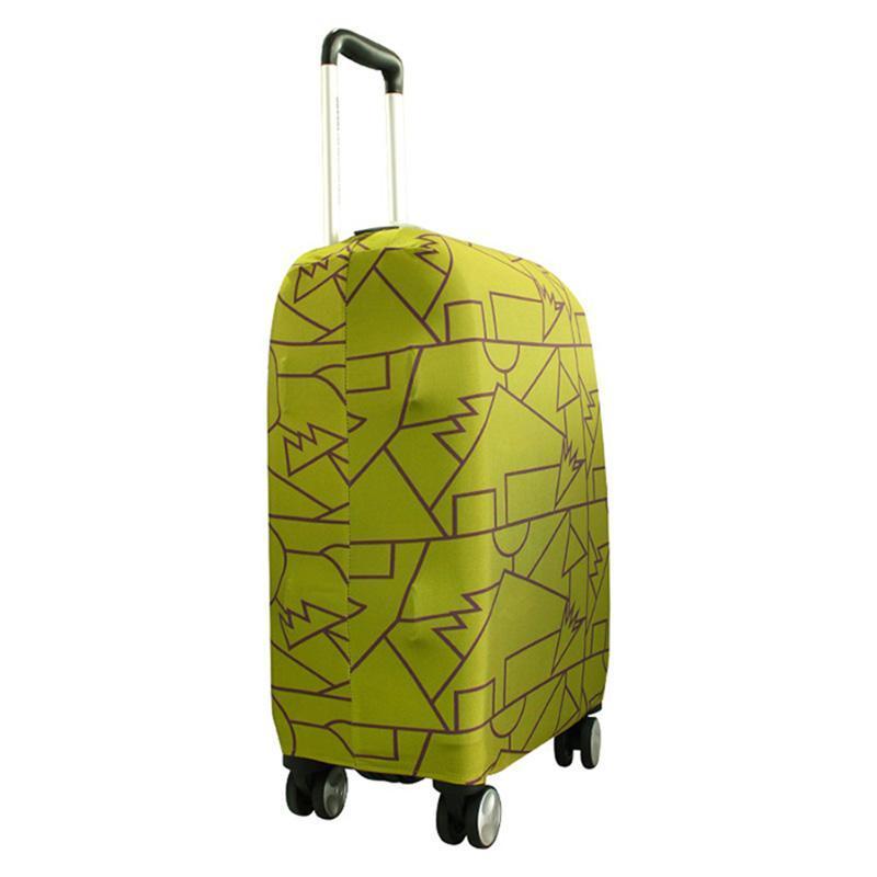 MENDINI 高彈性防塵行李箱保護套 S-草綠 單一選項