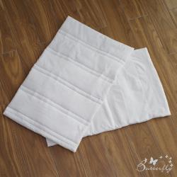 BUTTERFLY-台灣製造-防髒污全包覆式枕頭保潔墊-白色-單件