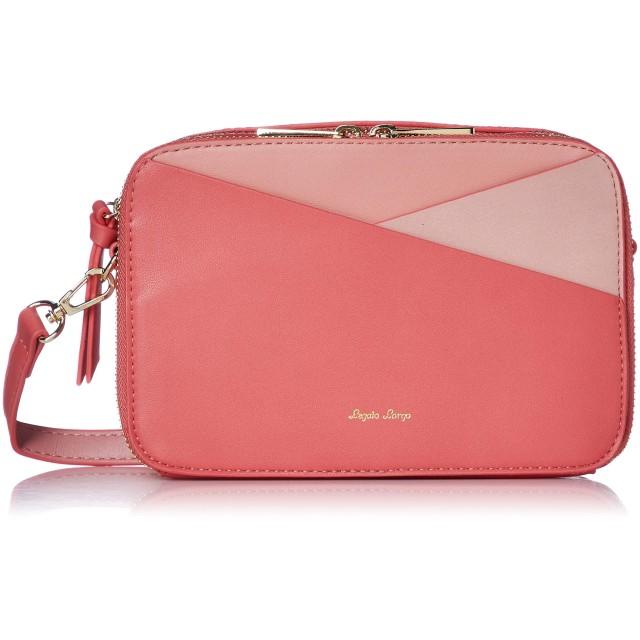 [レガートラルゴ] お財布ショルダー LG-G0796 カラフル3配色 お財布ショルダーバッグ ピンク