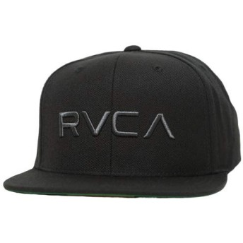 RVCA ルーカ RVCA TWILL SNAPBACK III HAT スナップバックキャップ MAAHWRSB [並行輸入品]