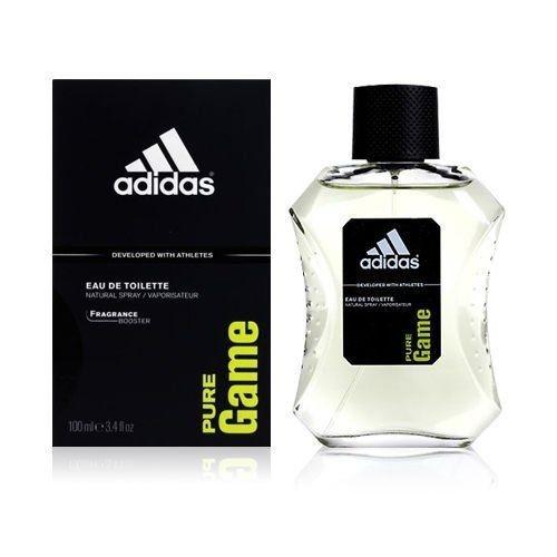 adidas愛迪達 極限挑戰運動男性香水Pure Game 100ML