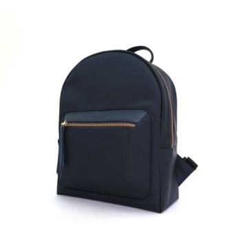靴の職人技 軽量の小さなバックパック(黒)撥水ナイロン布大容量